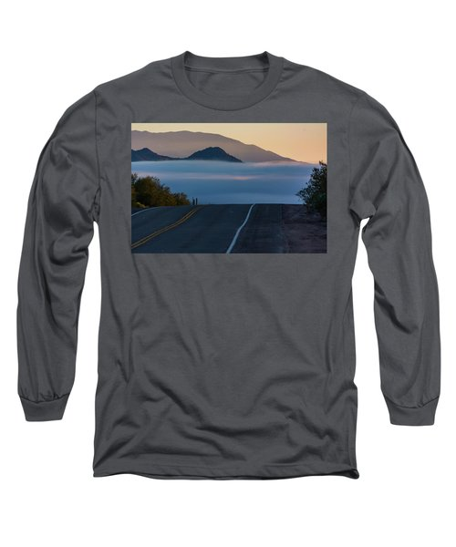 Desert Inversion Highway Long Sleeve T-Shirt