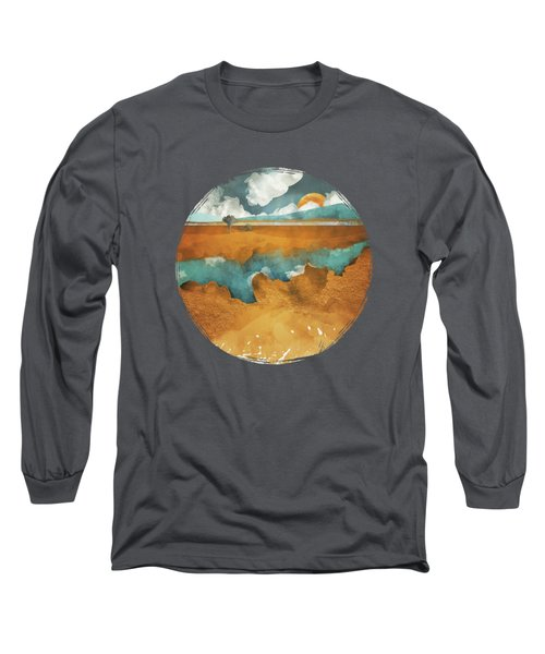 Desert Lake Long Sleeve T-Shirt by Spacefrog Designs