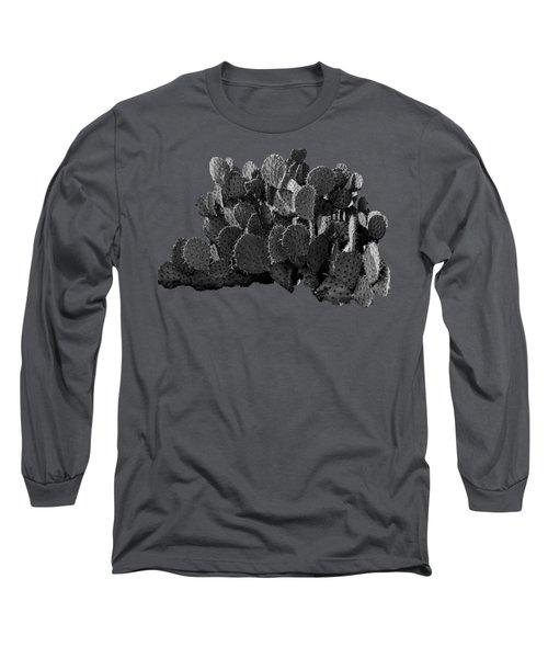 Desert Prickly-pear No7 Long Sleeve T-Shirt