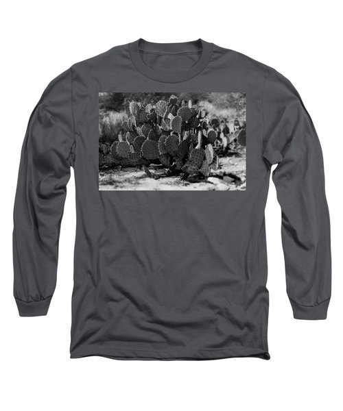 Desert Prickly-pear No7 Long Sleeve T-Shirt