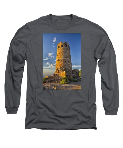 Long Sleeve T-Shirt featuring the photograph Desert View by Tom Kelly