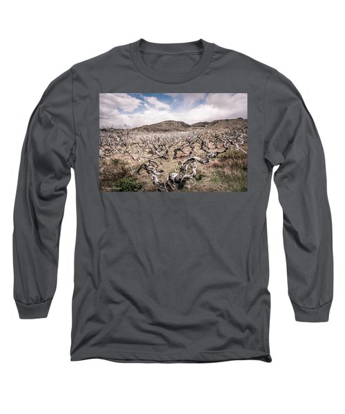 Long Sleeve T-Shirt featuring the photograph Desolation by Andrew Matwijec