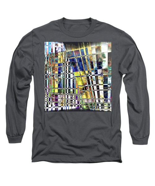 Desperate Reflections Long Sleeve T-Shirt by Seth Weaver