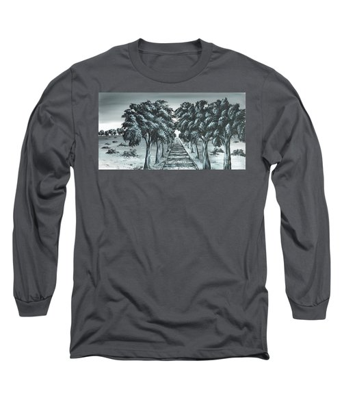 Destination 2 Long Sleeve T-Shirt by Kenneth Clarke