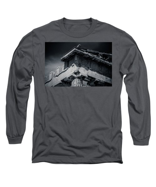 Details From The Parthenon - Greece Long Sleeve T-Shirt
