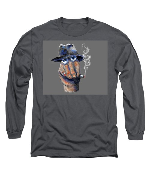 Detective Hand Long Sleeve T-Shirt