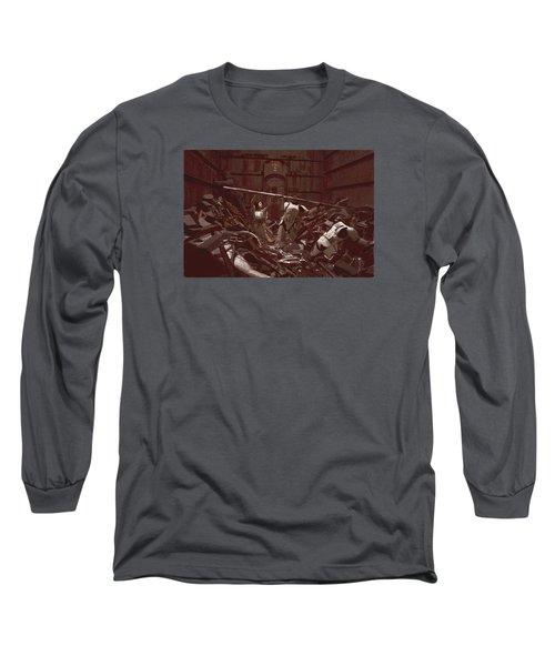 Garbage Compactor 3263827 Long Sleeve T-Shirt by Kurt Ramschissel