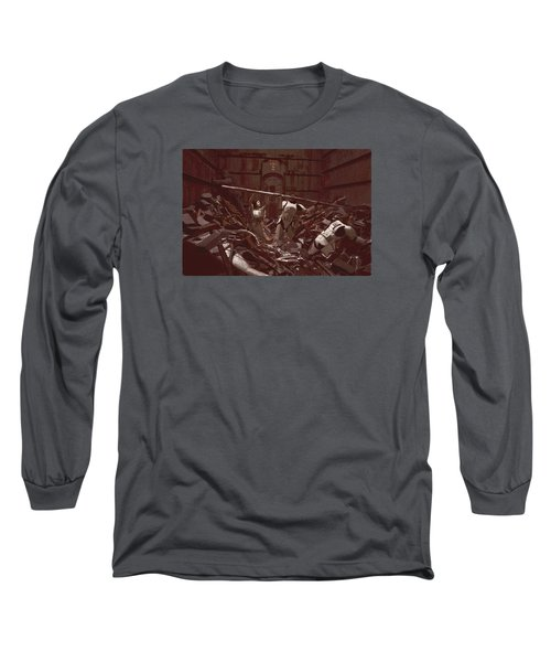 Garbage Compactor 3263827 Long Sleeve T-Shirt