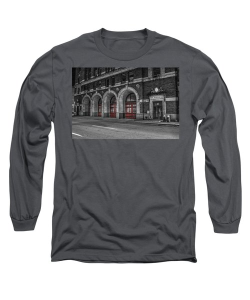 Detroit Fire Department Headquarters  Long Sleeve T-Shirt