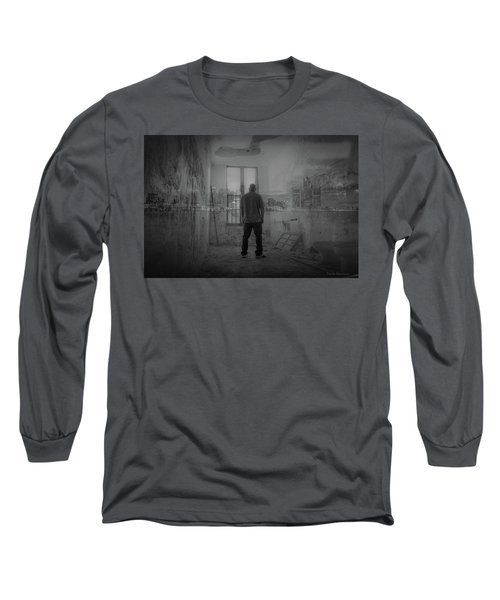 Detroit Urbex  Long Sleeve T-Shirt