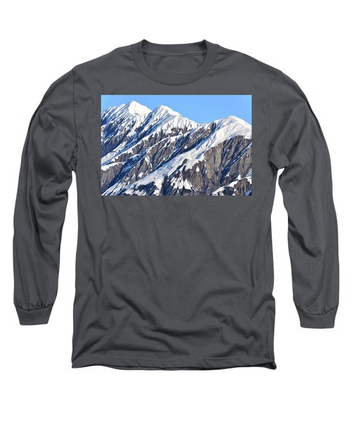 Devils Food With Frosting - Wrangall St. Elias Long Sleeve T-Shirt
