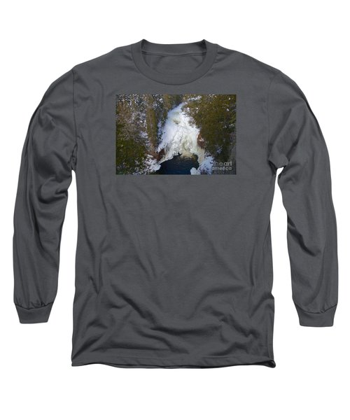 Devil's Kettle Long Sleeve T-Shirt by Sandra Updyke
