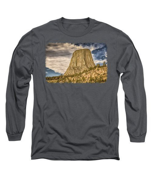 Devils Tower Inspiration 3 Long Sleeve T-Shirt