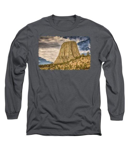 Devils Tower Inspiration 3 Long Sleeve T-Shirt