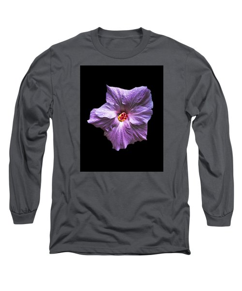 Dew Kissed Hibiscus Long Sleeve T-Shirt