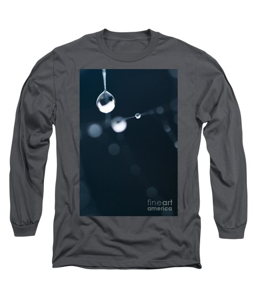 Dewdrops On Cobweb 005 Long Sleeve T-Shirt