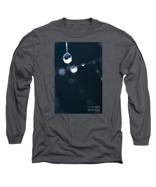 Dewdrops On Cobweb 005 Long Sleeve T-Shirt