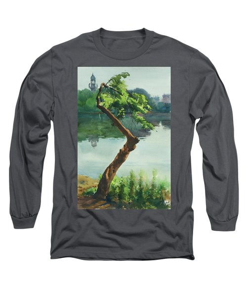 Dhanmondi Lake 03 Long Sleeve T-Shirt by Helal Uddin