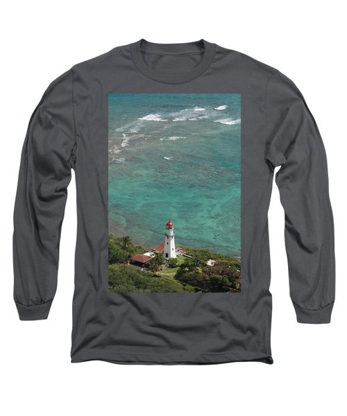 Diamond Head Lighthouse 3 Long Sleeve T-Shirt
