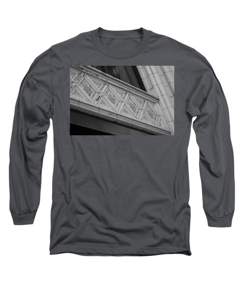 Diamond Patterns In Black And White Long Sleeve T-Shirt