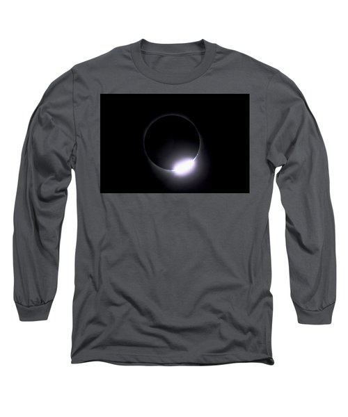 Diamond Ring During Solar Eclipse Long Sleeve T-Shirt