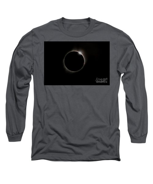 Diamond Ring Eclipse Long Sleeve T-Shirt