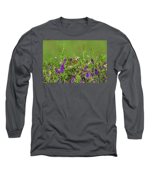 Dickcissel - 8256 Long Sleeve T-Shirt