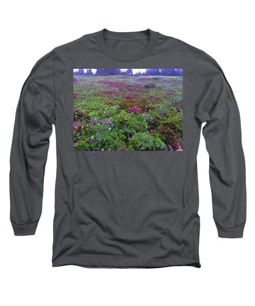 Dickerman Floral Meadow Long Sleeve T-Shirt