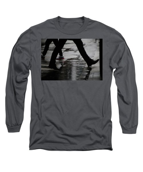 different Directions  Long Sleeve T-Shirt by Empty Wall