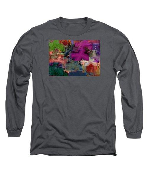Digital Fun No.1 Long Sleeve T-Shirt
