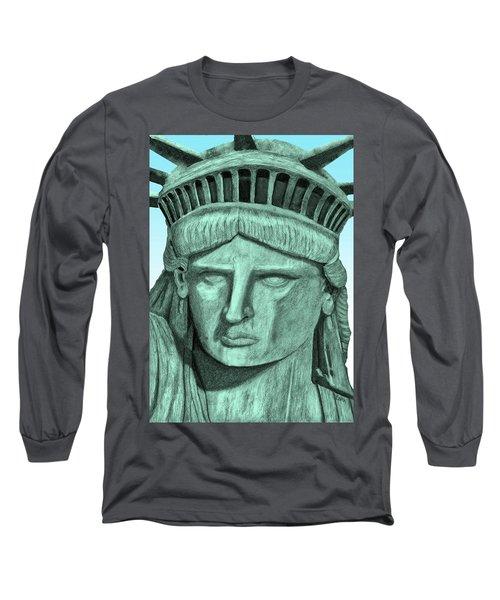 Digital Libby Long Sleeve T-Shirt