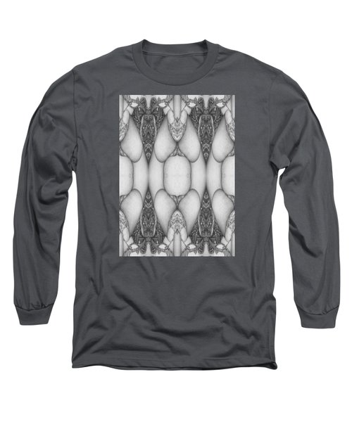 Digitized Ballpoint  Image Twenty Long Sleeve T-Shirt