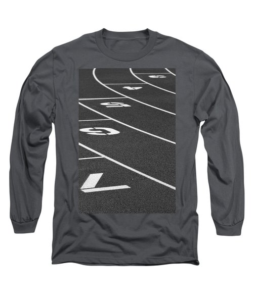 Dimensional Curve Long Sleeve T-Shirt