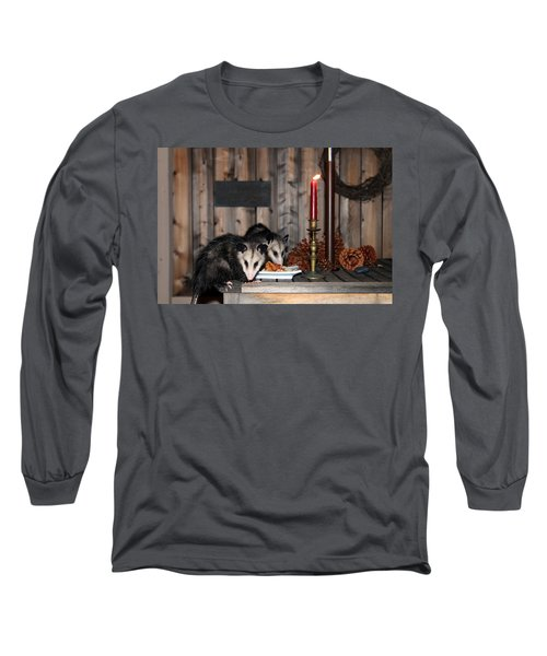 Dining Possums I Long Sleeve T-Shirt