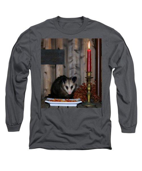 Dining Possums II Long Sleeve T-Shirt