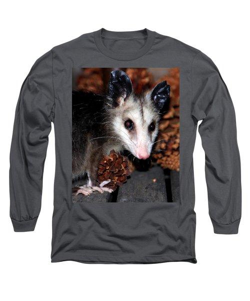 Dining Possums Vi Long Sleeve T-Shirt