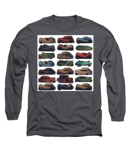 Dinky Car Park Long Sleeve T-Shirt