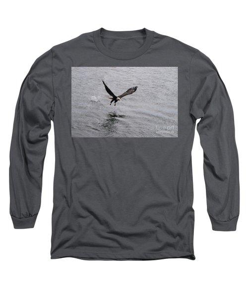 Dinner? Prince Rupert Eagle  Long Sleeve T-Shirt