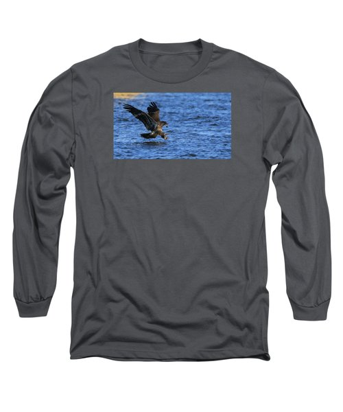 Long Sleeve T-Shirt featuring the photograph Dinner Run by Coby Cooper