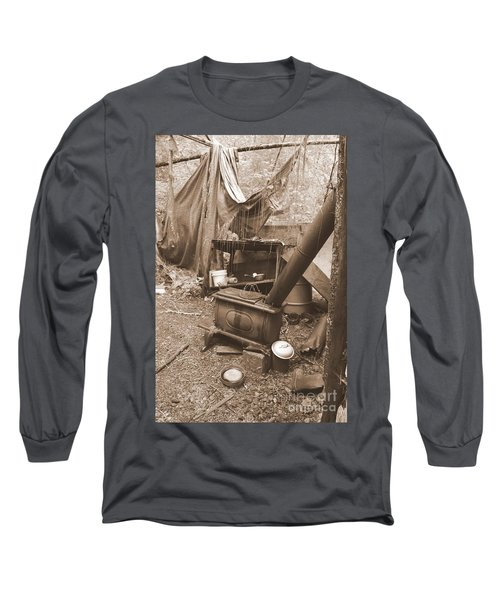 Long Sleeve T-Shirt featuring the photograph Dinner Will Have To Wait by Marie Neder