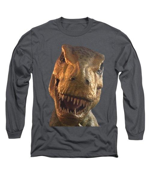 Dino Hello Long Sleeve T-Shirt by Charles Kraus