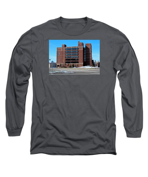Long Sleeve T-Shirt featuring the photograph Diocese Of Toledo In Winter by Michiale Schneider