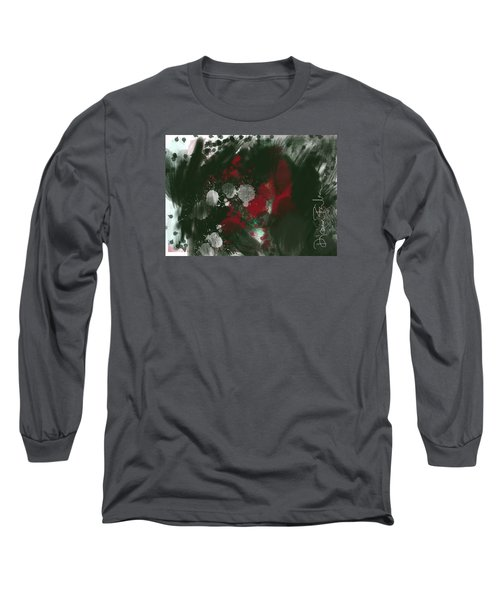 Long Sleeve T-Shirt featuring the digital art Disappointment by Diana Riukas