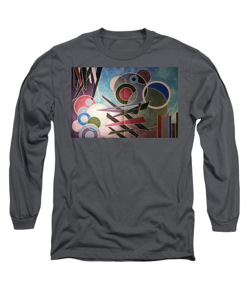 Long Sleeve T-Shirt featuring the painting Disarter by Hang Ho