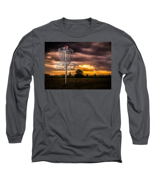 Disc Golf Anyone? Long Sleeve T-Shirt