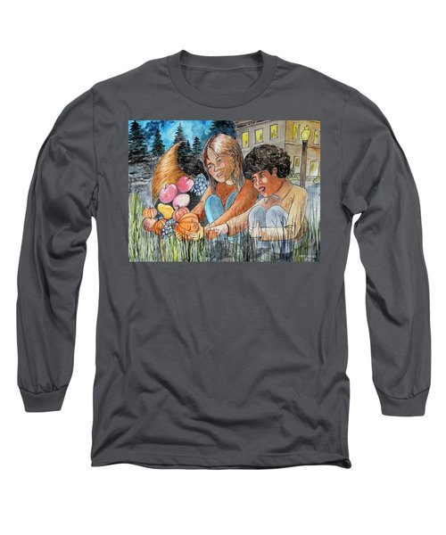 Discovering Heloise O'lantern Long Sleeve T-Shirt