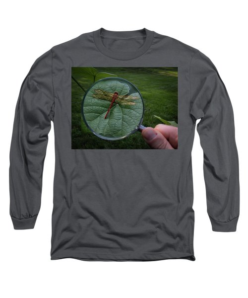Long Sleeve T-Shirt featuring the photograph Discovery by Mark Fuller