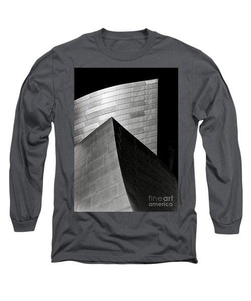 Disney Concert Hall Black And White Long Sleeve T-Shirt