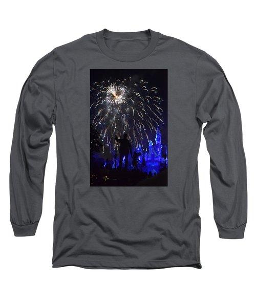 Disney Land Long Sleeve T-Shirt by Alex King