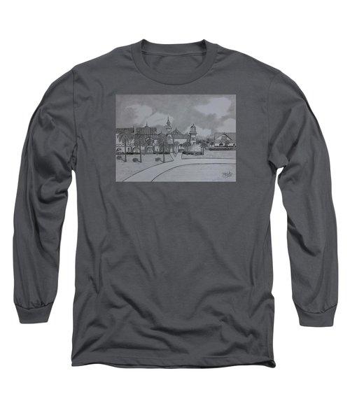 Disney's  Caribbean Beach  Long Sleeve T-Shirt by Tony Clark